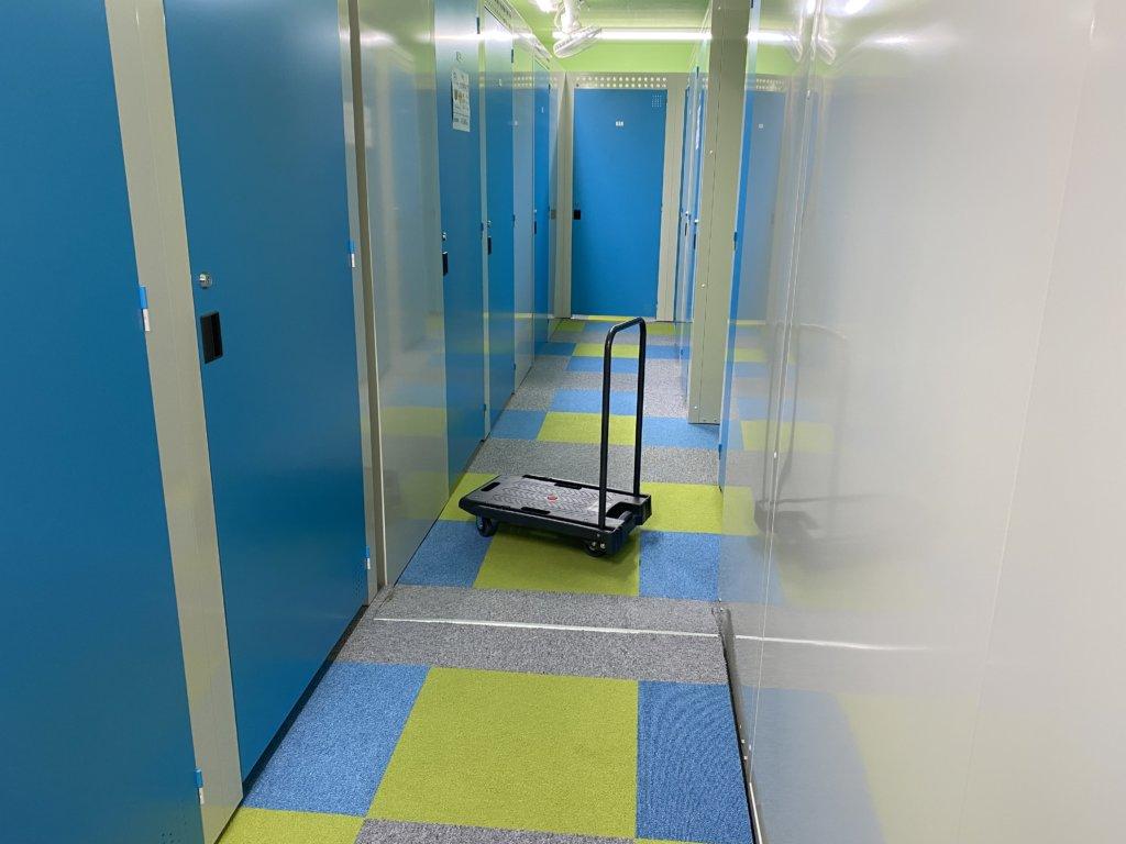 トランクルーム仙台の内部